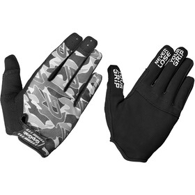 GripGrab Rebel Rugged Full Finger Gloves grey camo